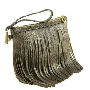 Western Fringe Clutch Cross Body Bag